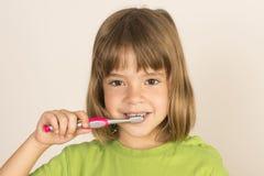 Keeping my teeth healthy Royalty Free Stock Photo
