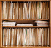 Keeping Records Stock Images