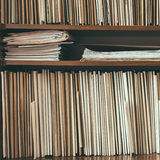 Keeping Records Stock Photography