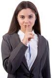 Keeping Secrets Royalty Free Stock Image