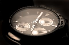 Keeping time royalty free stock photography
