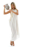 Keeps a jug. Ancient Greek concept. Stock Photography