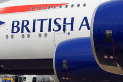 3 keer Britse luchtvaart Royalty-vrije Stock Fotografie