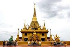 Keereewong temple or Watkeereewong. Located in Nakornsawan of Thailand Royalty Free Stock Image