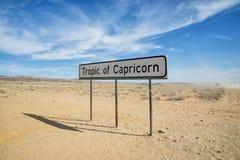 Keerkring van Steenbok Royalty-vrije Stock Afbeeldingen