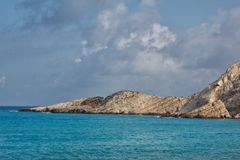 Kefalonia beach Royalty Free Stock Image