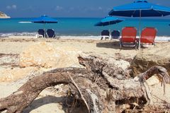Kefalonia beach Stock Images