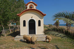Kefalonia church Royalty Free Stock Photography