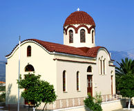 Kefalonia church Stock Image