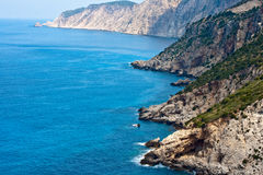Kefalonia coast Royalty Free Stock Image