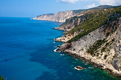 Kefalonia coast Stock Photo