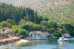 Kefalonia coast Stock Photos