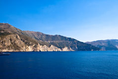Kefalonia coast, Greece Royalty Free Stock Images