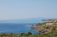 Kefalonia coastline Royalty Free Stock Photo