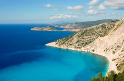 Kefalonia coastline Royalty Free Stock Photography