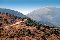 kefalonia góry Zdjęcia Stock