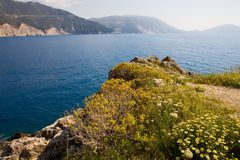 Kefalonia, Greece Royalty Free Stock Photography
