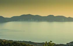 Kefalonia Ionian wyspy Zdjęcie Royalty Free