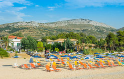 Kefalonia Ionian wyspy Zdjęcie Stock
