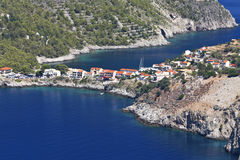 Kefalonia island in Greece Royalty Free Stock Images