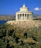 Kefalonia Lighthouse. Lighthouse in Kefalonia greece near the town of Argostoli royalty free stock images