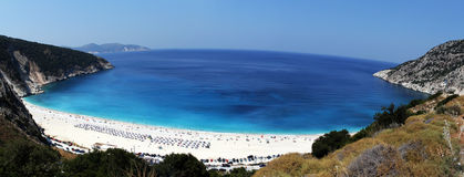 Kefalonia, Mirtos Royalty Free Stock Photos