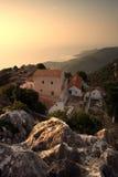 Kefalonia monastery Stock Images