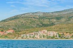 Kefalonia Podpalane Ionian wyspy Zdjęcie Stock