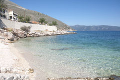Kefalonia port Royalty Free Stock Photos