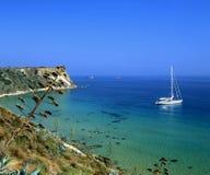 Kefalonia sailing royalty free stock photography