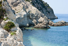 Kefalonia sea Royalty Free Stock Images