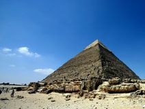 Kefren. Egypt: kefren pyramid Stock Photo