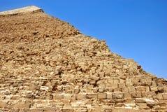 Kefren Pyramid on Giza, Cairo Royalty Free Stock Photography