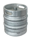 Keg. Beer keg, isolated on white background Stock Photos