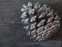 Kegel auf einem grauen Hintergrund Stockfotos
