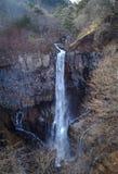 Kegon瀑布在日光国立公园,日本 库存照片