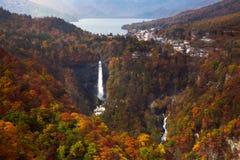 Kegon понижается в осень Стоковые Изображения