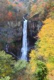 Kegon cade a NIkko, Giappone. Fotografia Stock Libera da Diritti