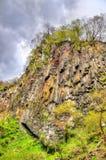 Kegon cade, una di più alte cascate nel Giappone Fotografie Stock Libere da Diritti