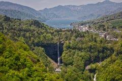 Kegon cai, uma das três quedas as mais bonitas, em Japão imagem de stock