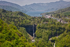 Kegon Falls, one of the three most Beautiful Falls, in Japan. Stock Image