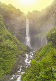 Kegon Waterfall. Famous Japanese 100 meter tall Kegon Waterfall Royalty Free Stock Image