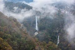 Kegon waterfalls Stock Photography