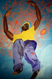Kehinde Wiley ' s painting at Brooklyn Museum Stock Photo
