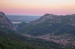 Kehle in Balkan-Bergen Lizenzfreies Stockbild