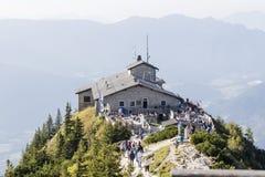 Kehlstein e Eagles annidano nelle alpi bavaresi Immagine Stock Libera da Diritti