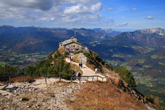 Kehlsteinhaus. The Kehlsteinhaus in Berchtesgaden in Germany Royalty Free Stock Image