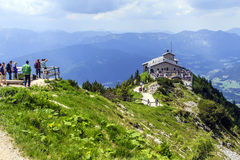 Kehlsteinhaus or Eagle's Nest Stock Photos