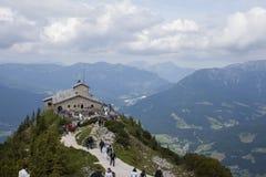 Kehlsteinhaus in Obersalzberg Lizenzfreies Stockfoto