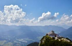Kehlsteinhaus, ` s Deutschlands Eagle Nest über dem Obersalzberg Stockfotografie